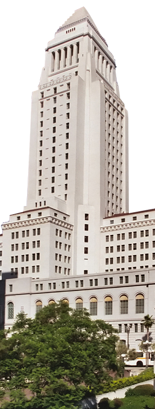 Los Angeles City Hall. © User:Brion Vibber / Wikimedia Commons / CC-BY-SA-3.0